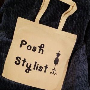 Posh Stylist Large Tote Bag